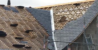 AFT Couverture toiture ardoises marcillé robert Rennes